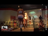 Colombian Chicks With Big Asses In Booty Shorts On Stage!